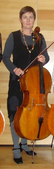 Herta mit Cello